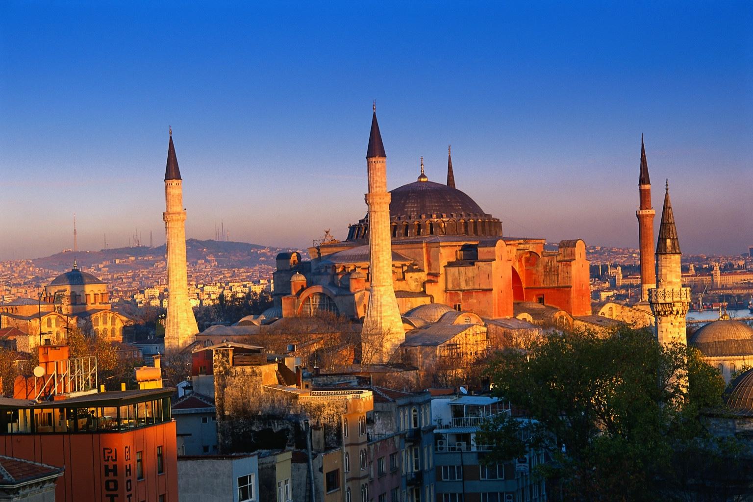 POSCA008 Aya Sofya, Istanbul, Turkey